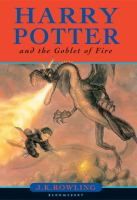 Harry Potter and the goblet of fire / J. K. Rowling