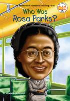 Who was Rosa Parks? / by Yona Zeldis McDonough ; illustrated by Stephen Marchesi