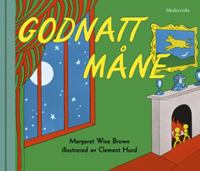 Godnatt måne / text: Margaret Wise Brown ; bild: Clement Hurd ; svensk text: Rose Lagercrantz.