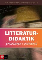 Litteraturdidaktik
